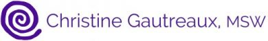 Christine Gautreaux MSW Logo